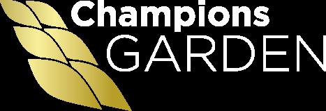 Champions Garden Retina Logo